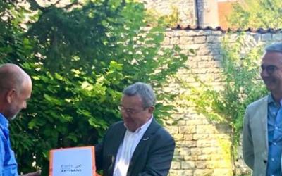 La CPME Grand Est lance sa campagne «Fiers d'être Artisans» à Colombey-les-deux-Eglises (Haute-Marne)